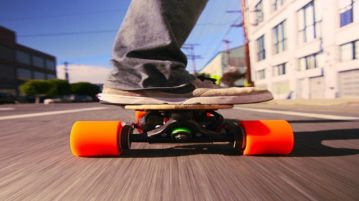 sketeboard boosted